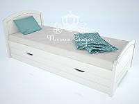 """Кровать одноярусная  """"Тесса"""" Snow White. Ясень., фото 1"""