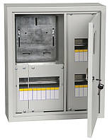Корпус металлический  ЩУРн-1/15зо-1 36  IP31 (470*400*145) накладной