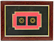 "Картина ""2 монеты"" (23,5х17,5х1 см)"