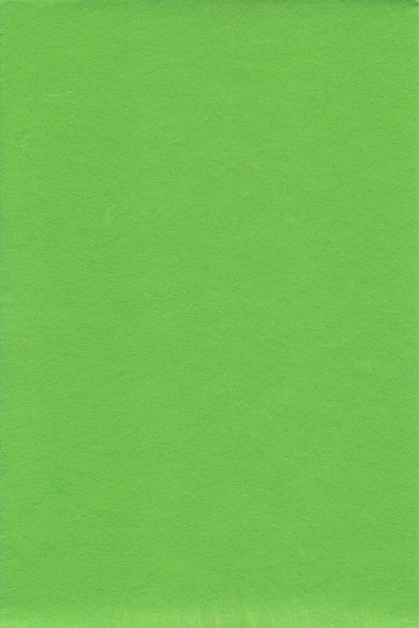 Фетр салатовый 1 мм., 7724