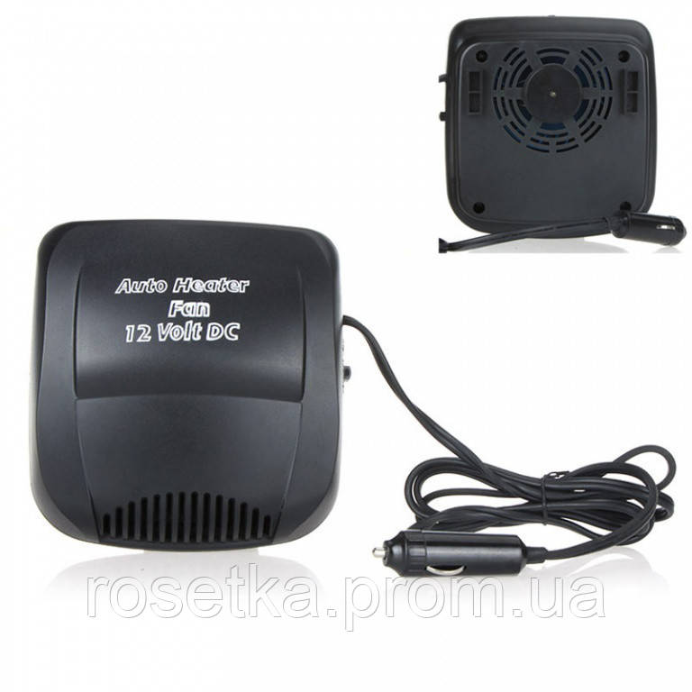 Обігрівач / вентилятор для салону автомобіля Aeroterma si Ventilator 150W, 12В (тепле й холодне повітря)