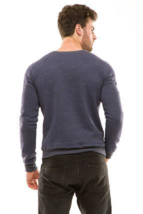 Батник трехнитка 450 джинс, фото 2