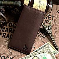 Бумажник мужской Vintage 14153 Коричневый, Коричневый, фото 1