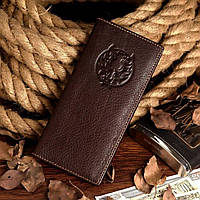Бумажник мужской Vintage 14174 Коричневый, Коричневый, фото 1