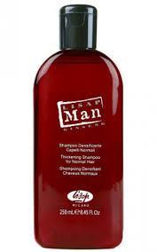 Укрепляющий шампунь для мужчин Lisap Man Thickening shampoo for normal hair (250 мл)