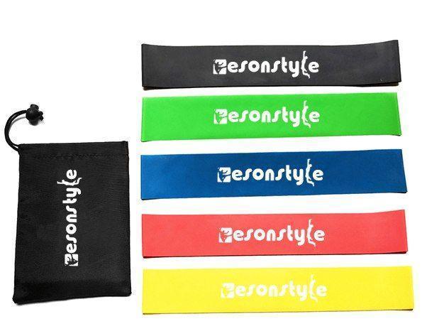 Резинки для фитнеса Esonstyle 5шт, Спорт резинка