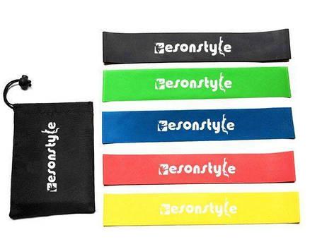 Резинки для фитнеса Esonstyle 5шт, Спорт резинка , фото 2