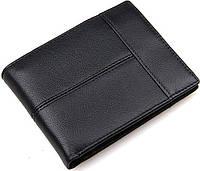 Кошелек мужской Vintage 14448 Черный, Черный, фото 1
