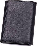 Кошелек Vintage 14467 кожаный Черный, Черный, фото 1
