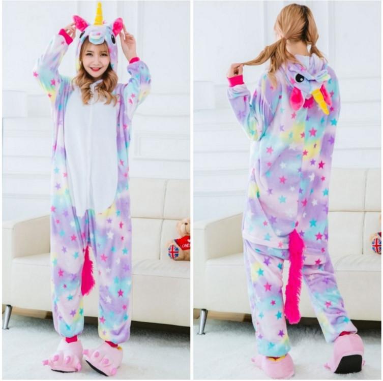 Кигуруми пижама для девушки Единорог (в звездочку) M b00a63d90a8ad