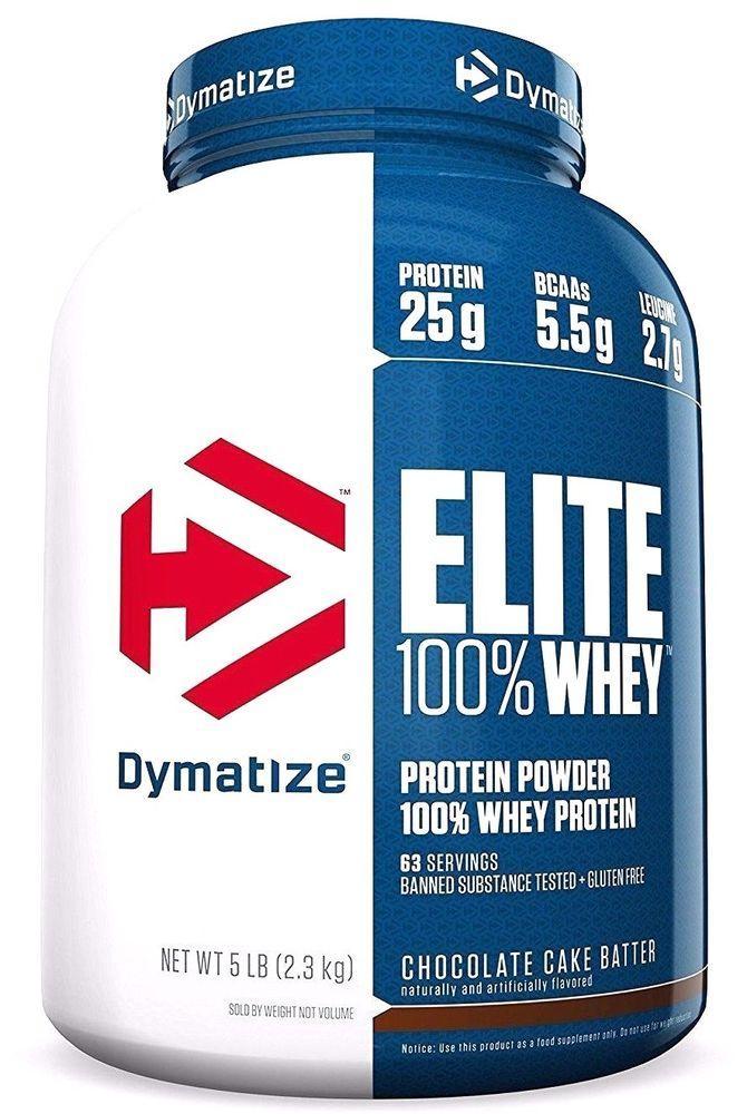 100% Elite Whey Protein Dymatize Nutrition