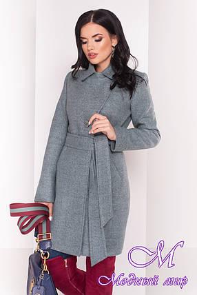 Женское кашемировое пальто весна осень (р. S, M, L) арт. Камила 5373 - 36876, фото 2