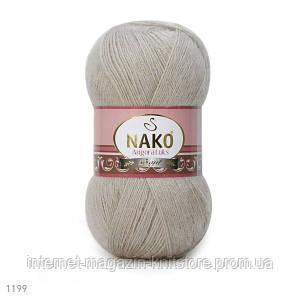 Пряжа Nako Angora Luks мішковина