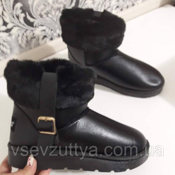 03ec9046625243 Уггі жіночі чорні зимові. Тільки 39,41 розміри!: продажа, цена в ...