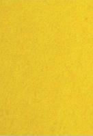 Фетр желтый 1 мм., 7722