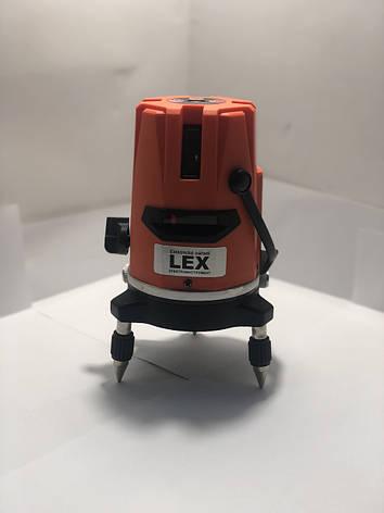 Лазерный уровень, нивелир LEX LXNL01 + штатив Луч 20м, фото 2