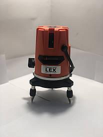 Лазерный уровень, нивелир LEX LXNL01 + штатив Луч 20м