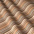 Красивая ткань для штор полоска коричневый, фото 2