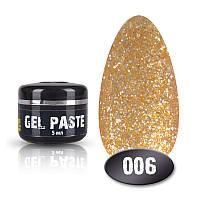 Гель паста №006 5мл. золото