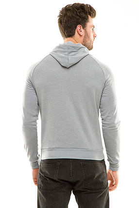 Реглан  с капюшоном 455 серый размер 50, фото 2