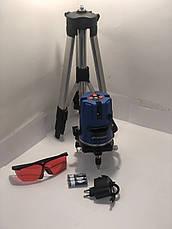 Лазерный уровень, нивелир ГОРИЗОНТ GRNL01+ штатив Луч 30м, фото 2