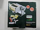 Ручная лапшерезка-равиольница Rainberg RB-911 Detachable Pasta Machine 2 in 1, фото 2
