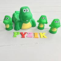 """Набор игрушек в ванночку 4 шт """"Крокодилы"""""""