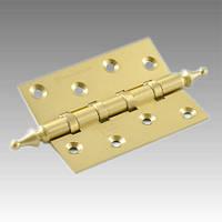 Петля латунная универсальная N 500 A-4 - SB (матовое золото)