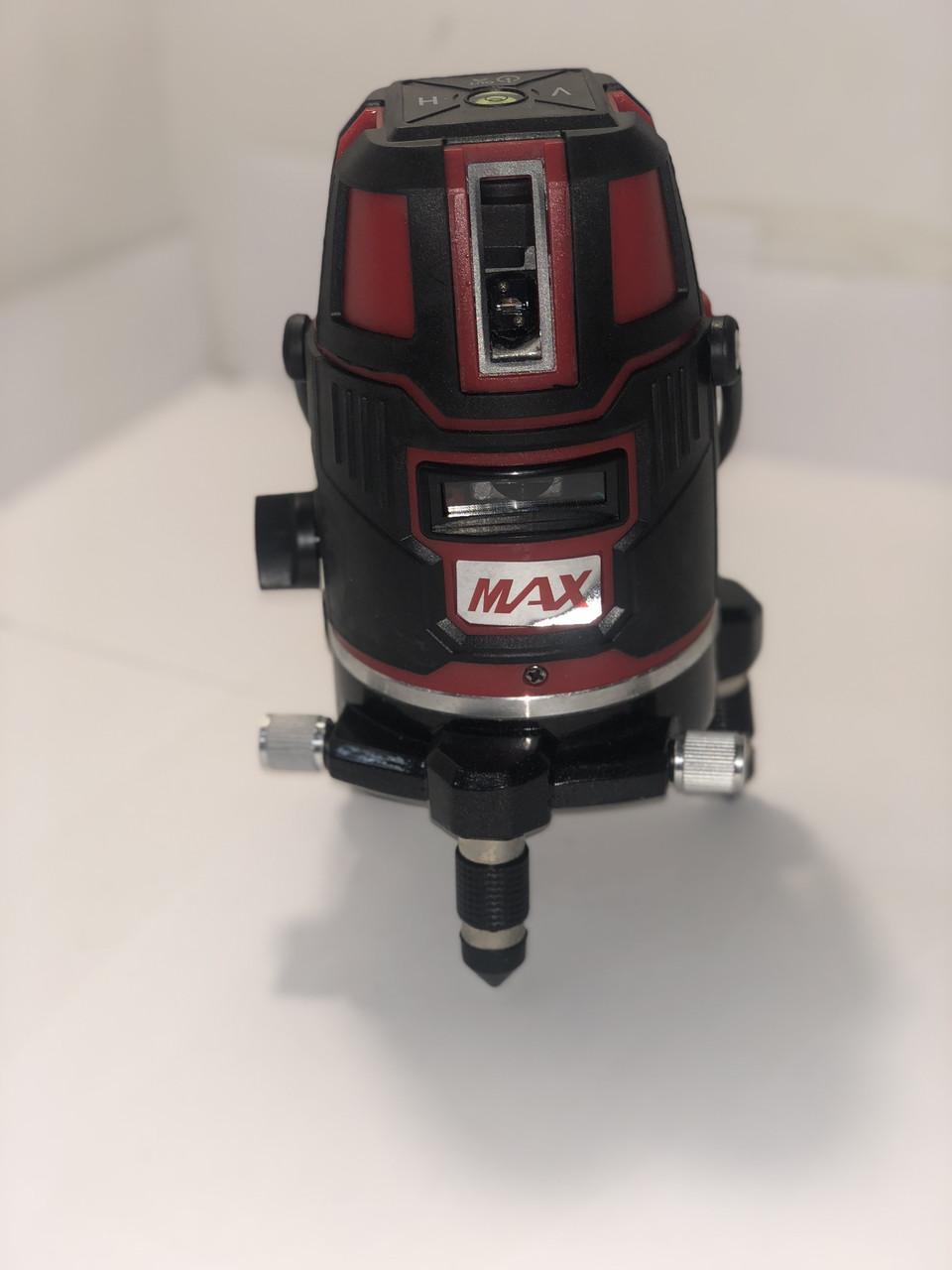 Лазерный уровень, нивелир Max MXNL 03 + штатив Зеленый Луч 50м