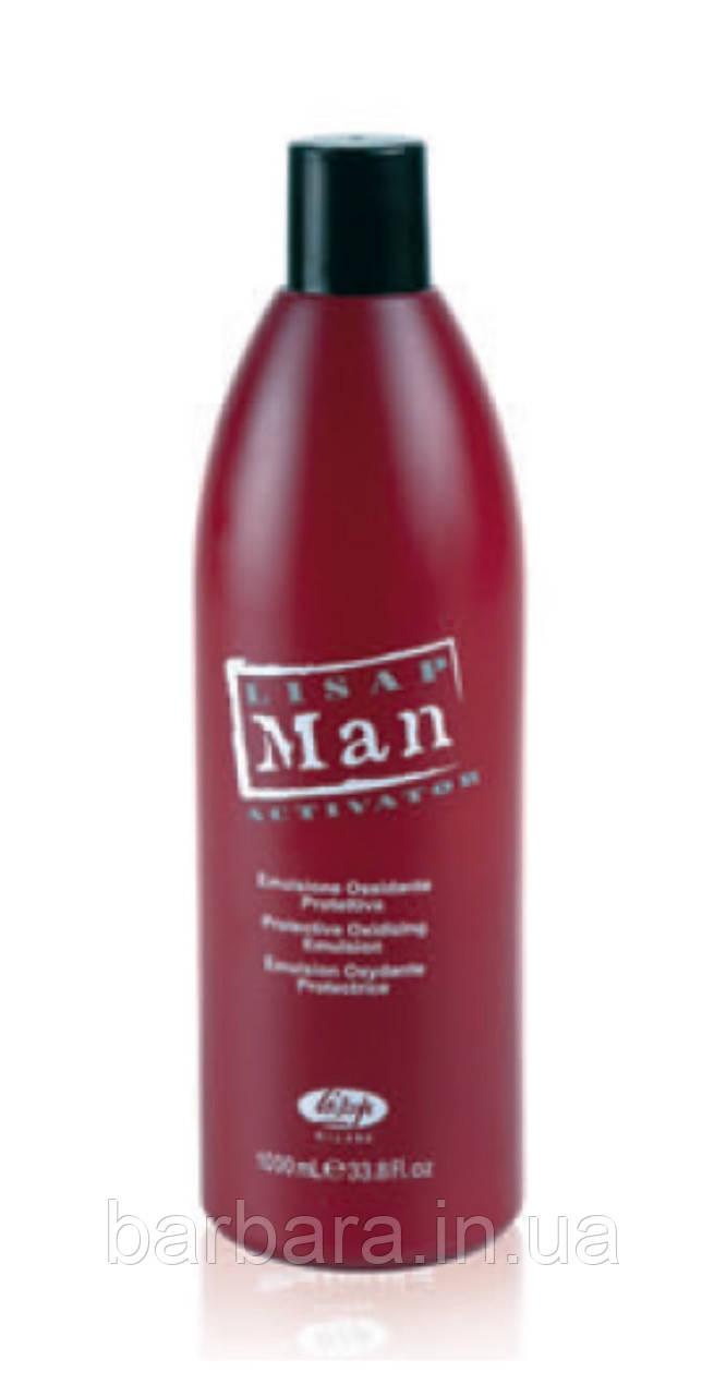 Окислитель для краски для мужчин Activator Lisap Man Color 20 vol 6% 1000мл