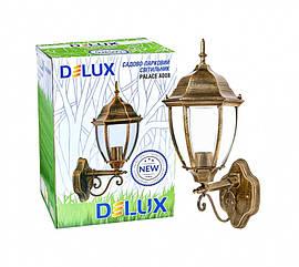 Светильник садово-парковый PALACE A008 60Вт Е27 черный-золото