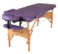 Массажный стол Ricardo ROMA-60 Фиолетовый
