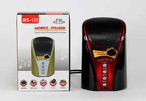 Портативная MP3 Колонка SPS WS 133 BT с поддержкой Bluetooth.