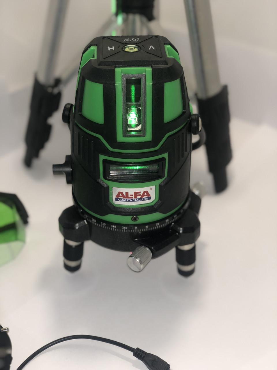 Лазерный уровень, нивелир  AL-FA ALNL02