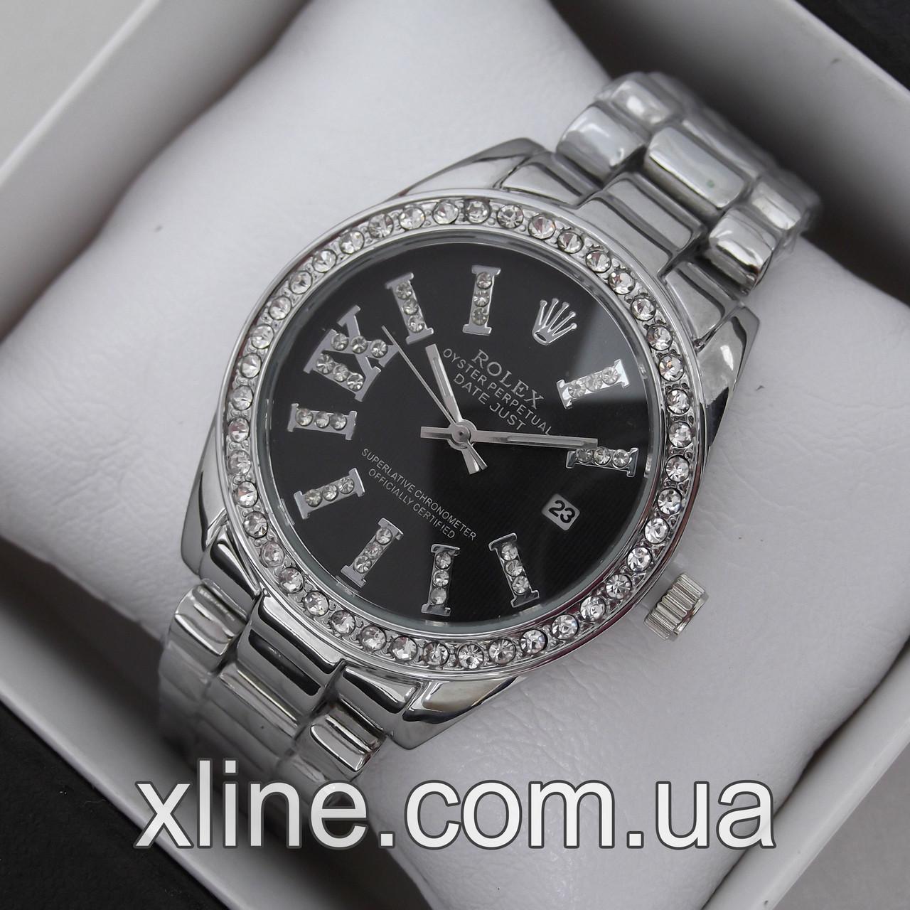 Жіночі наручні годинники Rolex C09 на металевому браслеті