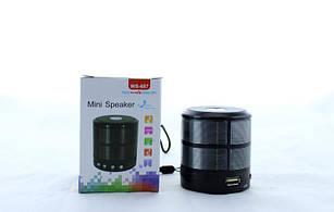 Портативная MP3 колонка WS887 с поддержкой Bluetooth.