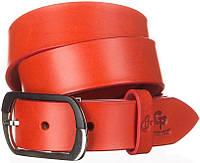Ремень женский GRANDE PELLE 11033 кожа Красный, Красный