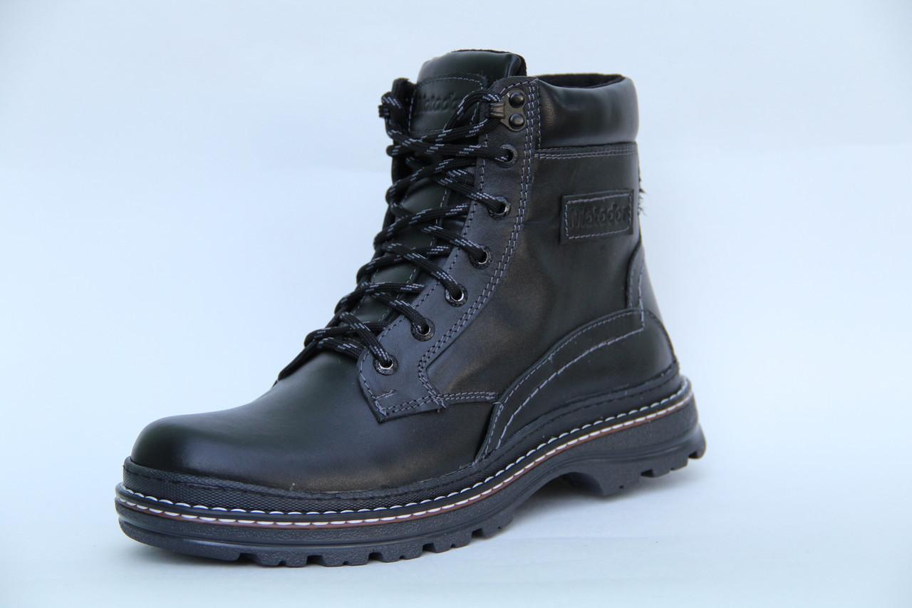 Мужские кожаные зимние ботинки Matador