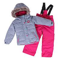 Зимний термокостюм KIDS для девочки 3-8 лет (96-134 см) ТМ Peluche&Tartine Stone / Berri F18 M 68 EF, фото 1