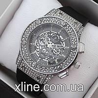 Женские наручные часы Hublot Big Bang M171 на каучуковом ремешке
