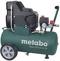 Безмасляный компрессор Metabo Basic 250-24 W OF (1,5Вт; 8Бар) 601532000