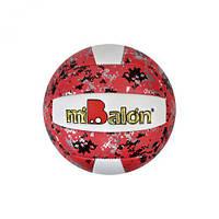 """Мяч волейбольный """"miBalon"""" (красный), диаметр 21 см F21947"""