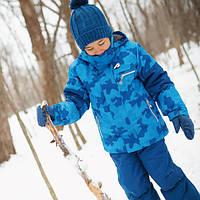 Зимний термокостюм для мальчика 4-6 лет р. 104-116 (куртка, полукомбинезон) ТМ PerlimPinpin VH273D1, фото 1