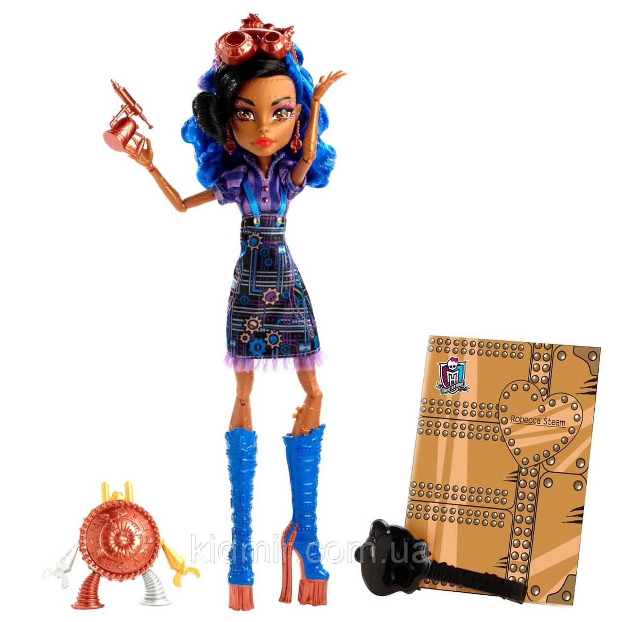 Кукла Monster High Робекка Стим (Robecca Steam) из серии Art Class Монстр Хай