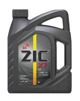 Масло моторное ZIC 10W-40 X7 LS (API SM/CF,ACEA A3/B3/B4/C3) 4л