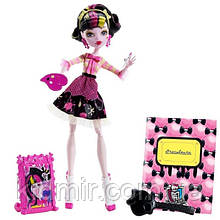Кукла Monster High Дракулаура (Draculaura) из серии Art Class Монстр Хай