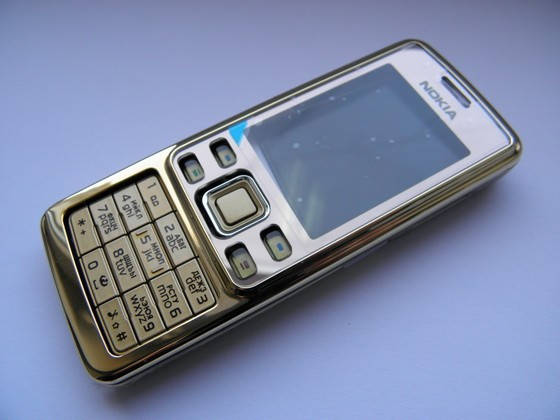 Корпус для Nokia 6300 золото с кнопками class AAA, фото 2
