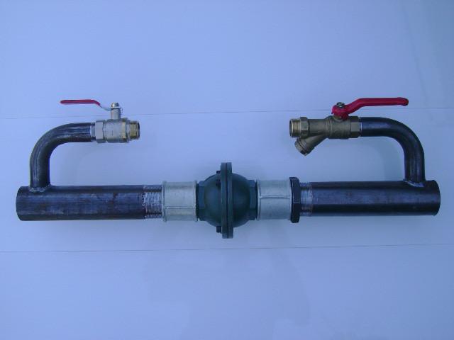 Установка обратного клапана отопления