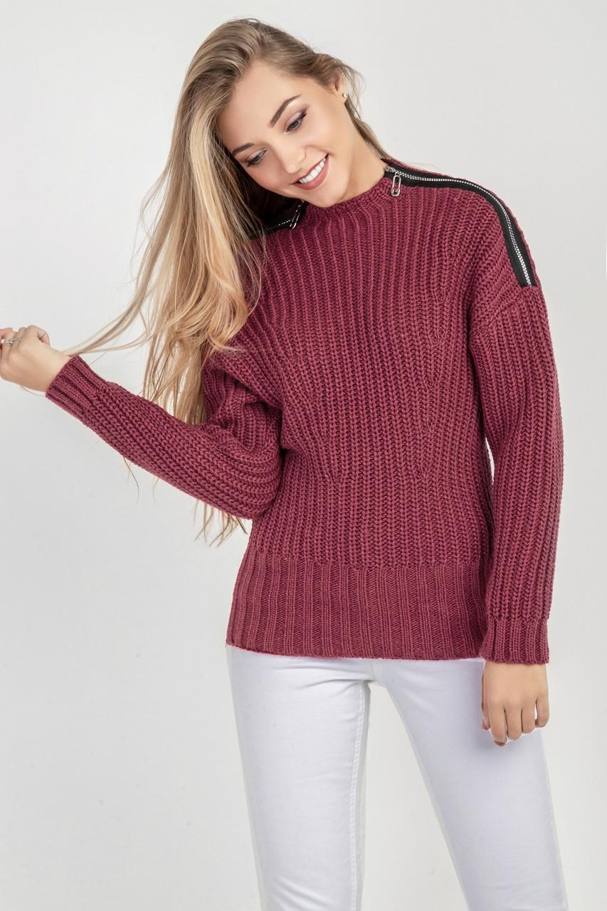 Стильный свитер 3 размера 2цвета