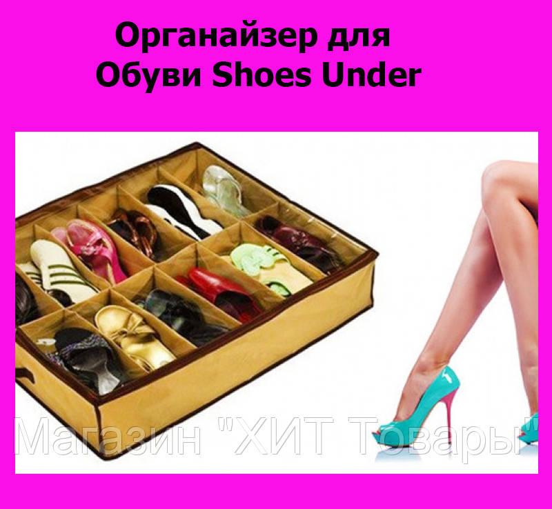 Органайзер для Обуви Shoes Under!ОПТ - Магазин